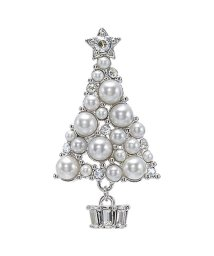 Plus Vendome/クリスマスツリーモチーフ ブローチ/501373313