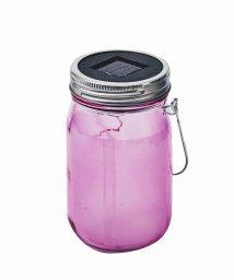 En Fance/ソーラー充電式ライト「Grass Jar Star 」 ピンク/501394067