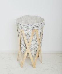 En Fance/Laundry Hamper ナチュラル×ボタニカル/501394073