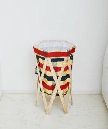 En Fance/Laundry Hamper ナチュラル×チェック/501394074