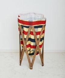 En Fance/Laundry Hamper ブラウン×チェック/501394076