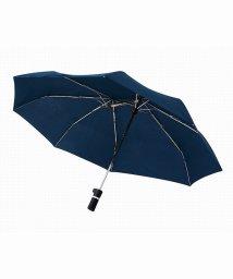 En Fance/軸をずらした折りたたみ傘「Sharely」 ネイビー/501394080