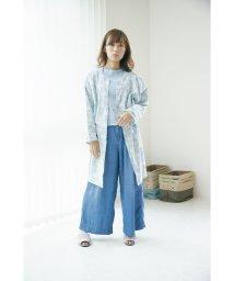 En Fance/Latelier 2WAY家事ワンピ「Audrey(オドレイ)」 ブルー/501394160