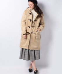 MELROSE Claire/【ORCIVAL】フェイクムートンダッフルコート/501408615