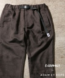 ADAM ET ROPE'/【GRAMICCI 別注】TWEEDY HERRINGBONE CRAZY PANTS/501412526