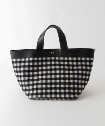 LE JOUR/【CACHELLIE】COW LEATHER CHECK TOTE/501413031