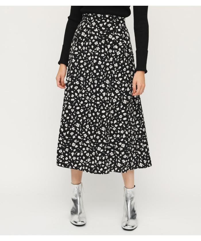 SLY LEO FLORAL WRAP M/SK