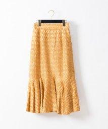 GRACE CONTINENTAL/カットジャガードマーメイドスカート/501415670