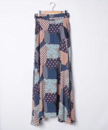 SHIPS WOMEN/【khaju】SEA NY:PATCHWORK LONG SK/501314766