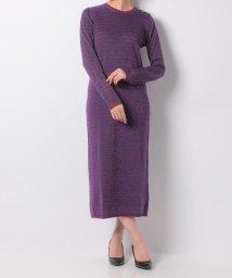SHIPS WOMEN/【khaju】CARVEN:RAYEE LUREX KNIT DRESS/501314778