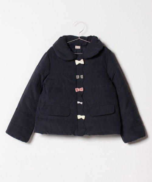 petit main(プティマイン)/スカラップリボン中わたジャケット/9684303