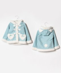 axes femme kids/うさ耳ムートンダッフルコート/501409531