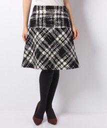 MISS J/ビックチェックツィードスカート/501410018