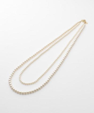 DOUBLE_PEARLS_NECKLACE 2連 ネックレス
