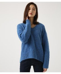 AZUL by moussy/ブークレVネック長袖PO/501418394
