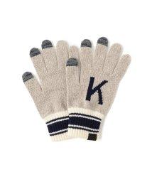 BEAMS MEN/INFIELDER DESIGN × BEAMS / 別注 Alphabet Glove(タッチパネル対応)/501289149