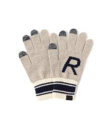BEAMS OUTLET/INFIELDER DESIGN × BEAMS / 別注 Alphabet Glove(タッチパネル対応)/501289149