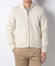 SHIPS MEN/【SHIPS】ARPENTEUR:WL KNIT ZIP CD/501314180