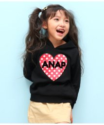 ANAP KIDS/ボアアップリケパーカー/501358255