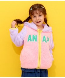 ANAP KIDS/配色ボアパーカー/501374467