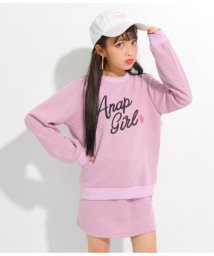 ANAP GiRL/キルティングトップススカートセット/501380768