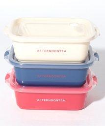 Afternoon Tea LIVING/ロゴ柄保存容器3個セット 500ml/501391759