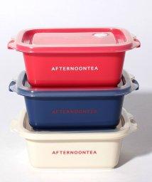 Afternoon Tea LIVING/ロゴ柄保存容器3個セット 300ml/501391760