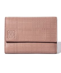 LOEWE/【LOEWE】3つ折り財布/SMALL VERTICAL【BLUSH】/501411772