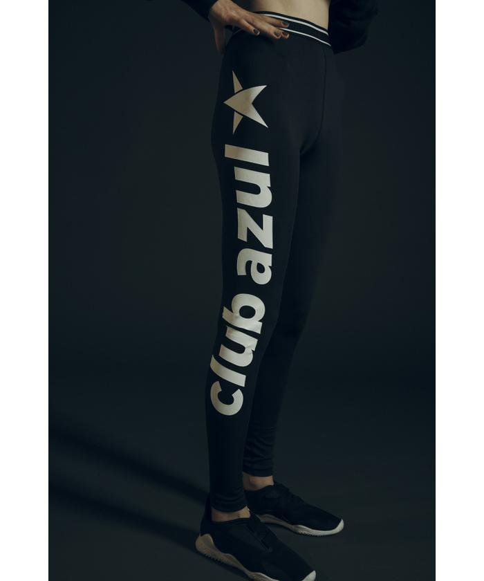CLUB AZUL LOGO LEGGINGS
