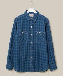 ADAM ET ROPE'/【BONCOURA】 ネルワークシャツ/501421328