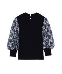 Lily Brown/スパンコール刺繍スリーブトップス/501421392