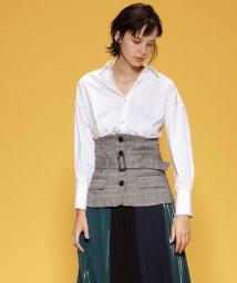 GRACE CONTINENTAL/タックシャツ/501421407