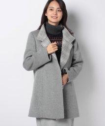 Leilian PLUS HOUSE/【ウィンターコレクション掲載商品】カシミヤコート/501376445