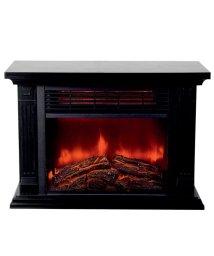 En Fance/暖炉型即暖セラミックファンヒーター HD-100BK/501394132