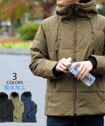 MARUKAWA/中綿 撥水 ストレッチ マンパ フード ジャケット パーカー アウター/501394423