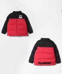 XLARGE KIDS/バイカラーダウン入り2WAYジャンパー/501411989