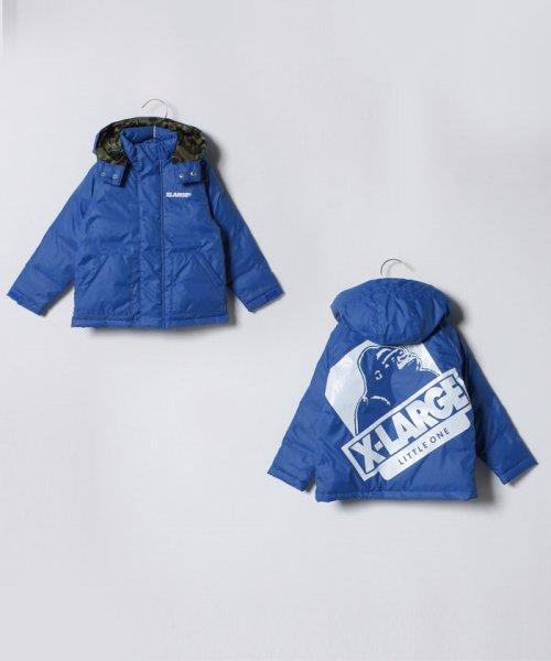 XLARGE KIDS(エクストララージ キッズ)/フードつきダウン入りジャケット/9484302