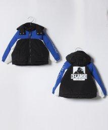 XLARGE KIDS/カラーブロッキング中わたフルジップ2WAYジャケット/501411996