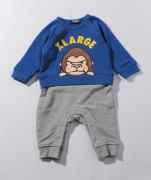 XLARGE KIDS/ファニーゴリラ裏毛ロンパース/501411997