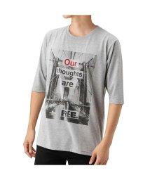 MAC HOUSE(men)/T-GRAPHICS オールスター五分袖Tシャツ EJ185-MC105/501420469