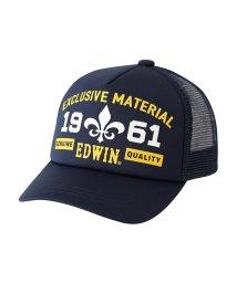 MAC HOUSE(kid's)/EDWIN ジュニア スタンダードメッシュキャップ ED081/501420622
