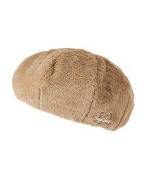 MAC HOUSE(kid's)/Navy ガールズ モコモコファーベレー帽 WZ189-KZ039/501420628