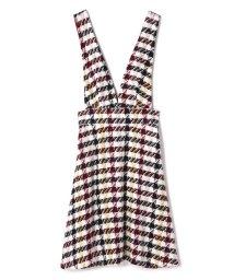 PROPORTION BODY DRESSING/2Wayチェックジャンパースカート/501421535