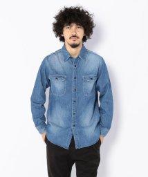 BEAVER/KATO'/カトー デニムワークシャツ/501423242
