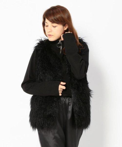 LHP(エルエイチピー)/Chica/チカ/Fur Long Vest/6016163056-60