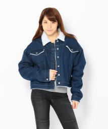 LHP/Chica/チカ/Oversize Boa DenimJacket/501424102
