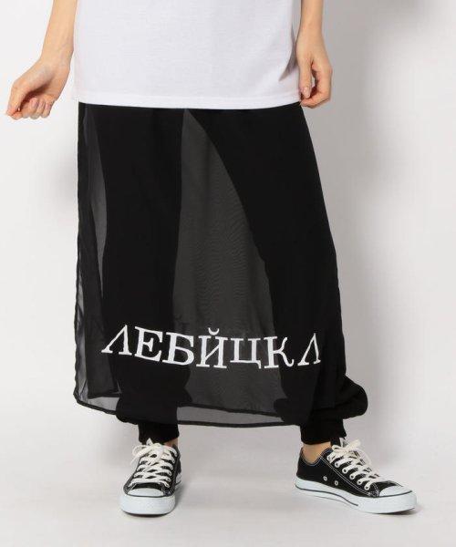 LHP(エルエイチピー)/Chica/チカ/Layered Print Pants/6016163337-60