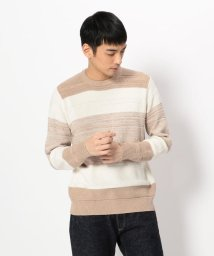 LHP/LHP/エルエイチピー/Border Crew-Neck Knit/501425894