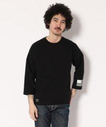 AVIREX/【WEB&DEPOT限定】ビッグロゴ 7分袖 Tシャツ/BIG LOGO 3/4 SLEEVE T-SHIRT AVIREX NYC/501426977