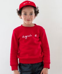 agnes b. ENFANT/S137 E SWEAT ロゴスウェット/501417228